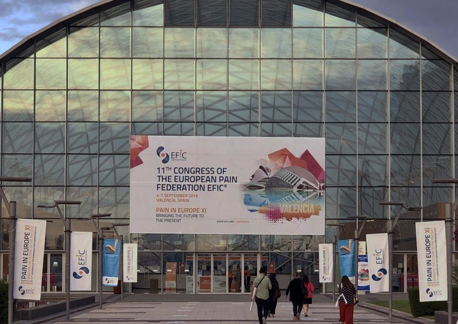 11th Annual Congress of the European Pain Federation, Sept. 4th-7th